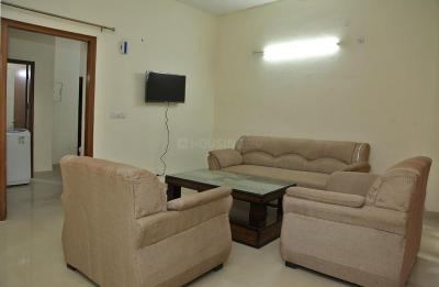 Living Room Image of Rajeev House Palm Grove Heights in Sector 54