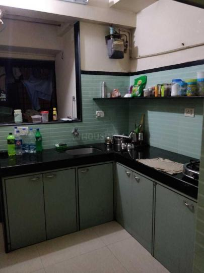Kitchen Image of 621 Sq.ft 1 BHK Apartment for rent in Vile Parle West for 37000