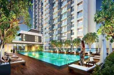 Gallery Cover Image of 575 Sq.ft 1 BHK Apartment for buy in Ashar Edge Wing A Phase II, Thane West for 8600000