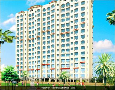 Gallery Cover Image of 400 Sq.ft 1 RK Apartment for rent in Gundecha Valley Of Flowers, Kandivali East for 15000