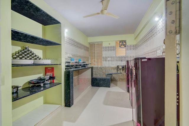 Kitchen Image of Oyo Life Blr1160 Btm Layout in BTM Layout