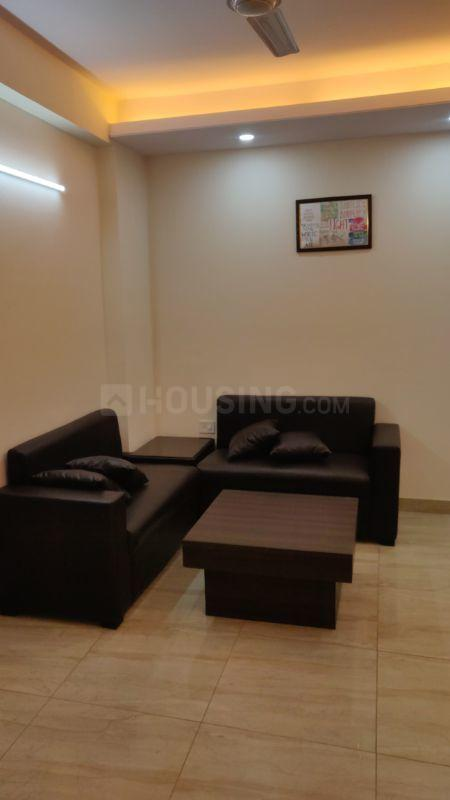 Living Room Image of 750 Sq.ft 1 BHK Independent Floor for rent in Sushant Lok I for 26000