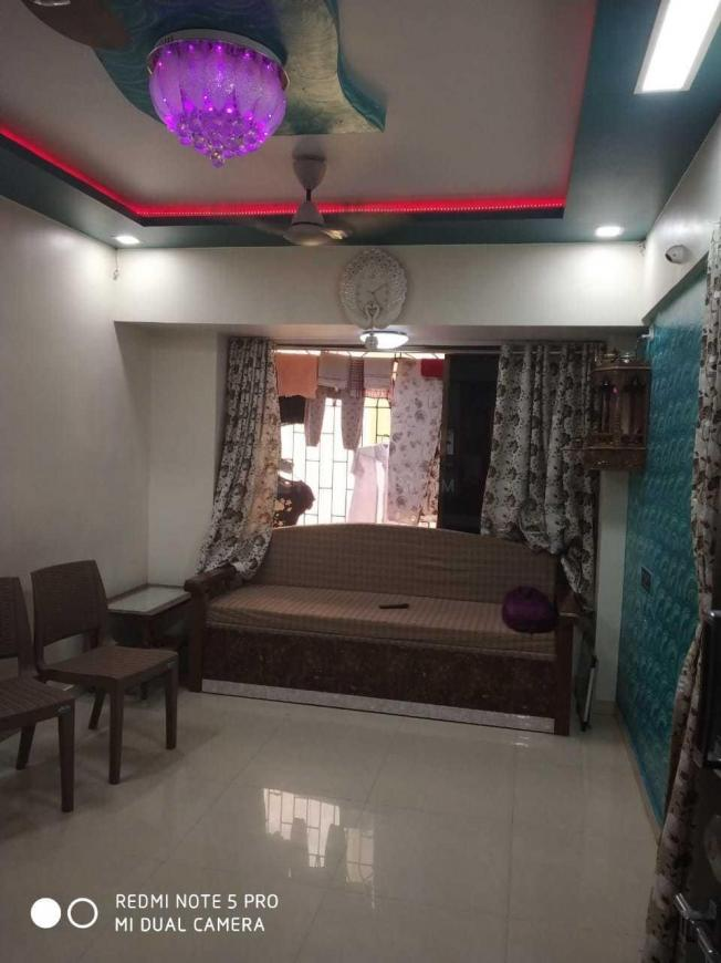 Living Room Image of 1200 Sq.ft 1 BHK Independent House for buy in Kharghar for 4500000