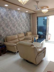 Gallery Cover Image of 1700 Sq.ft 3 BHK Apartment for rent in C Teja Signature, Belapur CBD for 60000