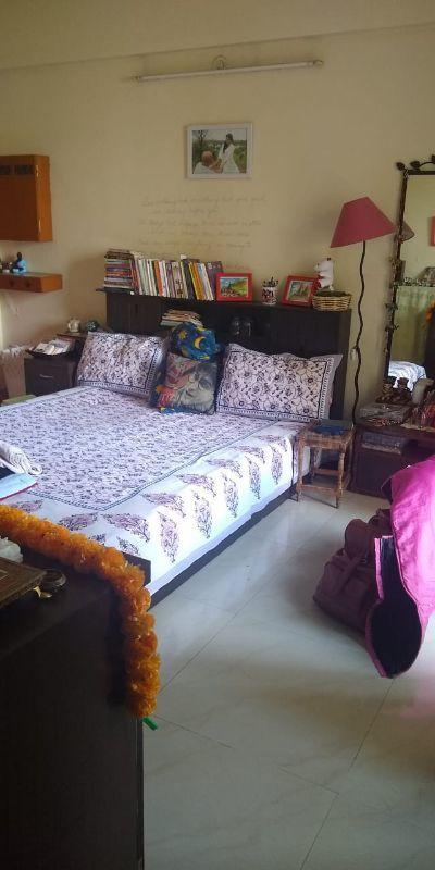 Bedroom Image of 1650 Sq.ft 3 BHK Apartment for rent in Wanowrie for 35000