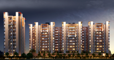Gallery Cover Image of 849 Sq.ft 2 BHK Apartment for buy in RISHI Ventoso, Madhyamgram for 2930000