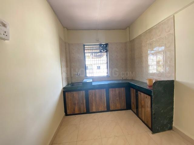 Kitchen Image of 560 Sq.ft 1 BHK Apartment for rent in Dombivli West for 8500