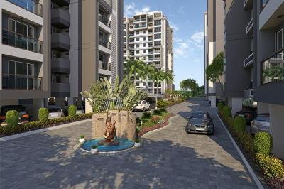 Gallery Cover Image of 1850 Sq.ft 3 BHK Apartment for buy in Khodiyar for 8500000