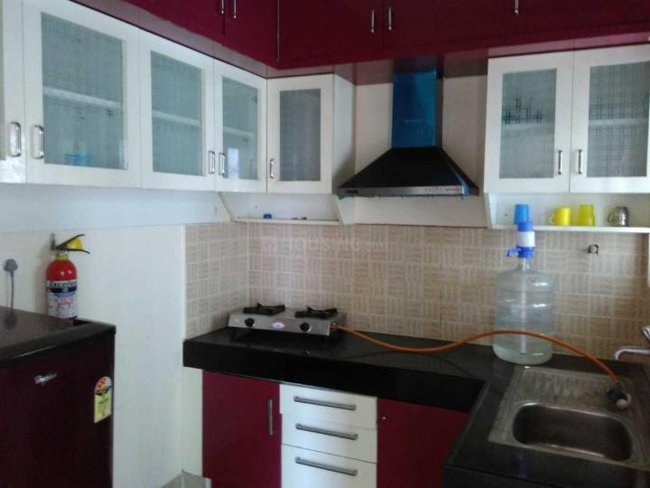 व्हाइटफ़ील्ड में विंधियागिरी पीजी में किचन की तस्वीर