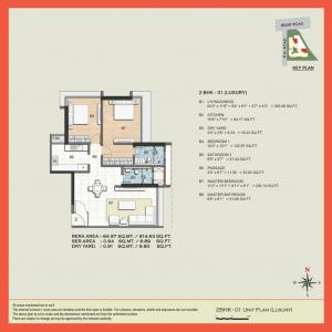 Gallery Cover Image of 1663 Sq.ft 3 BHK Apartment for buy in Ahuja L'Amor, Jogeshwari West for 22000000