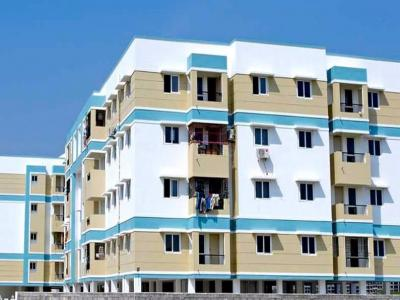 Gallery Cover Image of 1153 Sq.ft 3 BHK Apartment for rent in Perumbakkam for 20000