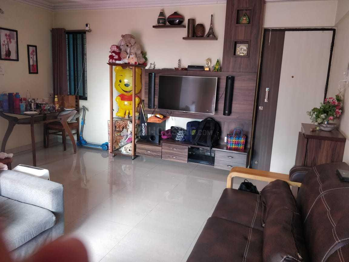 Living Room Image of 1250 Sq.ft 3 BHK Apartment for buy in Thane West for 10000000