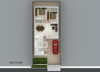 Gallery Cover Image of 1100 Sq.ft 2 BHK Independent House for buy in Abhista Homes, Patancheru for 5699990