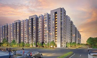 Gallery Cover Image of 710 Sq.ft 2 BHK Apartment for buy in Lodha Golden Sunrise, Antarli for 3900000
