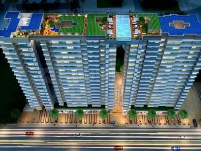Gallery Cover Image of 650 Sq.ft 1 BHK Apartment for buy in Ayodhya Saffron Residency Phase 1, Kurla East for 10800000