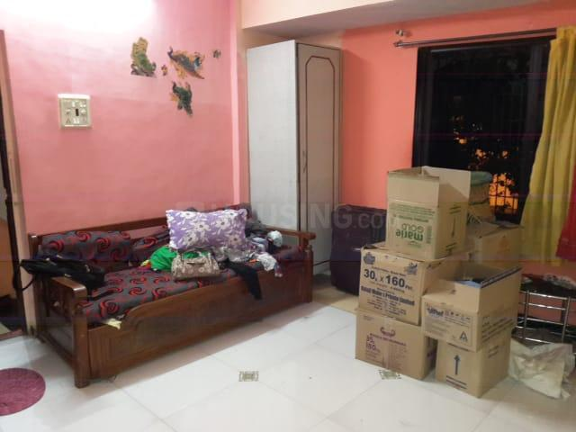 Bedroom Image of 600 Sq.ft 1 BHK Apartment for rent in Nerul for 18000