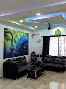 Gallery Cover Image of 1200 Sq.ft 3 BHK Apartment for rent in Thane West for 55000