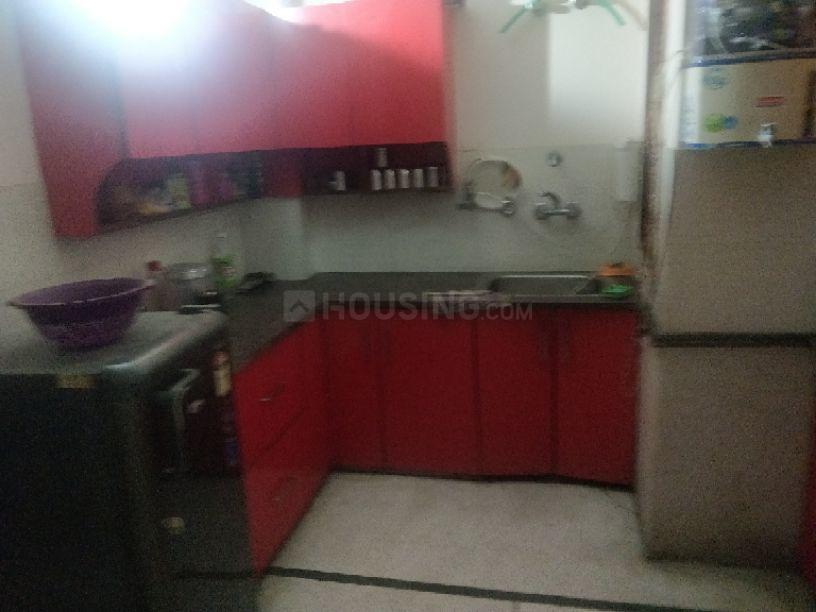 Kitchen Image of 661 Sq.ft 2 BHK Independent Floor for rent in Samay Pur for 9000
