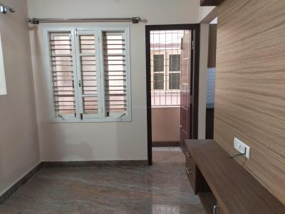 Gallery Cover Image of 551 Sq.ft 1 BHK Independent Floor for rent in Murugeshpalya for 12000