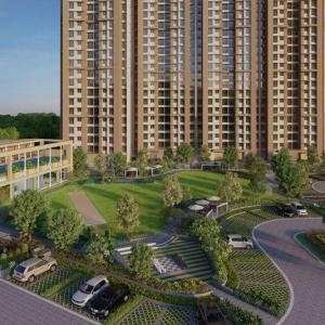 Gallery Cover Image of 1150 Sq.ft 3 BHK Apartment for buy in Thane West for 16700000
