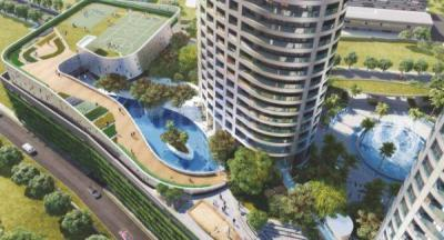 Gallery Cover Image of 15000 Sq.ft 7 BHK Apartment for buy in Sunteck Signature Island, Bandra East for 400000000