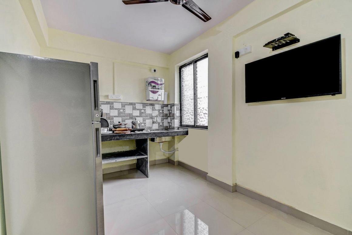 Kitchen Image of Oyo Life Pun776 Kharadi in Wadgaon Sheri