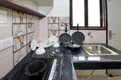 Kitchen Image of Oyo Life Grg1375 Nr Sikanderpur Metro in DLF Phase 3