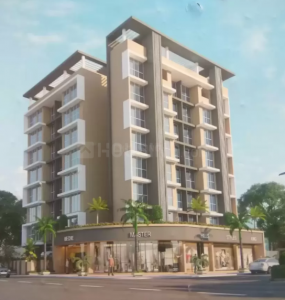 Gallery Cover Image of 485 Sq.ft 1 BHK Apartment for buy in A C Crystal Avenue, Ulwe for 5950003