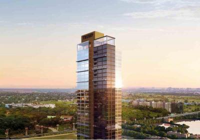Gallery Cover Image of 1800 Sq.ft 4 BHK Apartment for buy in Tribeca Trump Tower, Topsia for 40500000