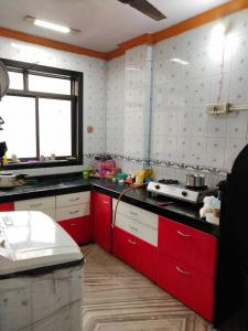 Kitchen Image of Tatwa Paying Guest House in Airoli