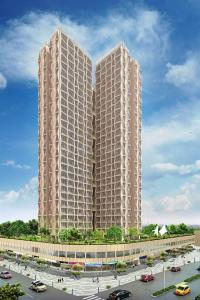 Gallery Cover Image of 936 Sq.ft 2 BHK Apartment for rent in Soham Tropical Lagoon 5 Di Vita, Kasarvadavali, Thane West for 26000
