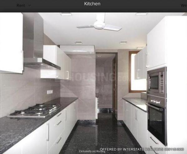 Kitchen Image of 3000 Sq.ft 3 BHK Independent House for buy in Sector 49 for 40000000