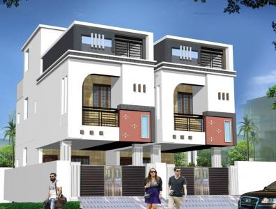 Gallery Cover Image of 1200 Sq.ft 3 BHK Independent House for buy in Kolathur for 8000000