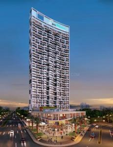 Gallery Cover Image of 719 Sq.ft 2 BHK Apartment for buy in Sunteck Signia Waterfront, Airoli for 16400000
