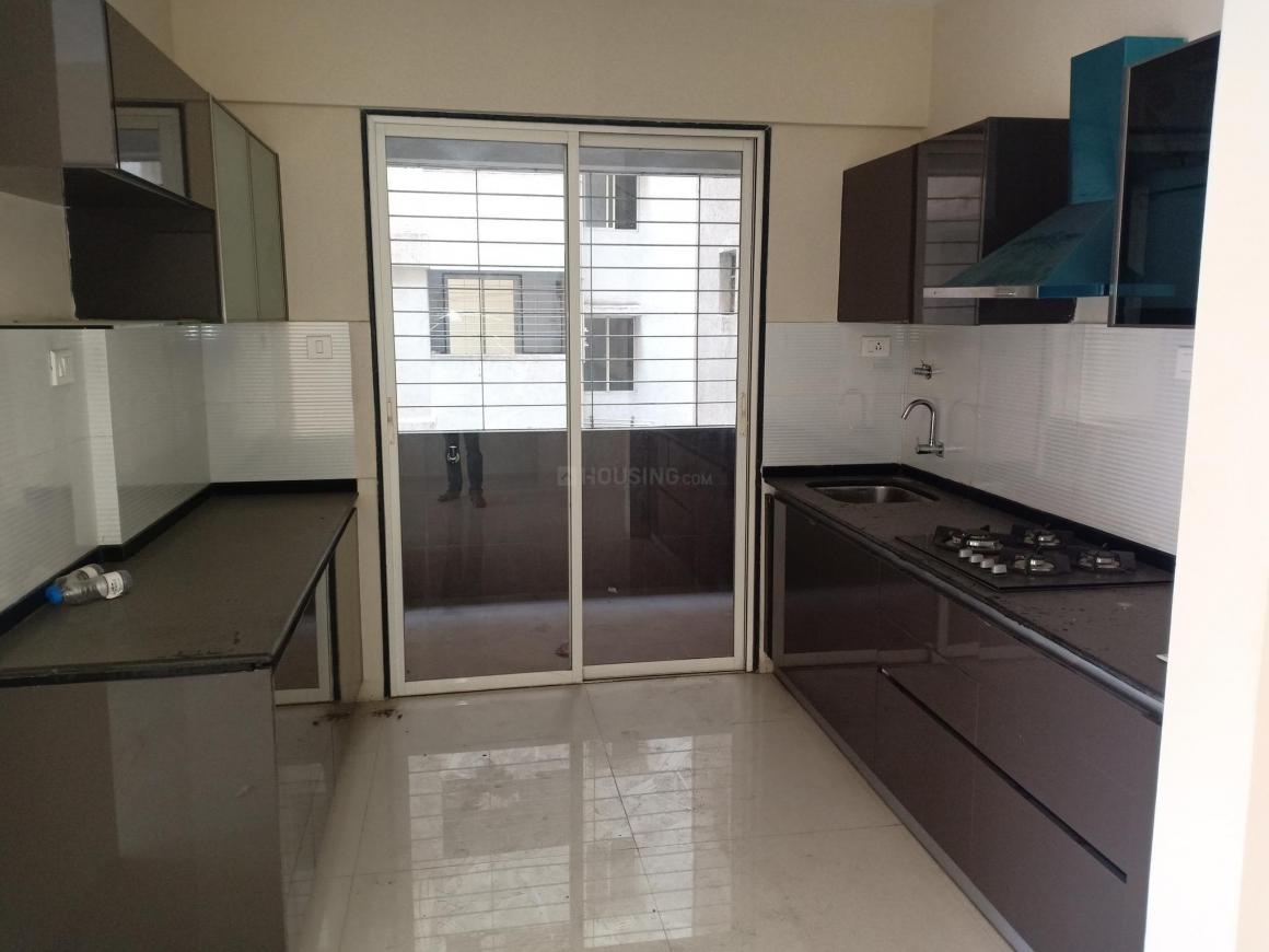 Kitchen Image of 2015 Sq.ft 3 BHK Apartment for rent in Kharadi for 42000