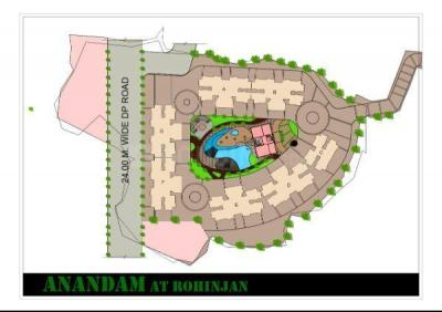 Gallery Cover Image of 1351 Sq.ft 3 BHK Apartment for buy in Today Anandam, Rohinjan for 10500000