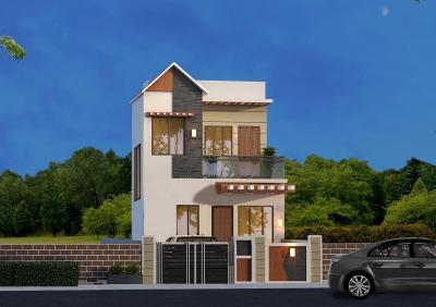 Gallery Cover Image of 621 Sq.ft 2 BHK Villa for buy in Joka for 1849000