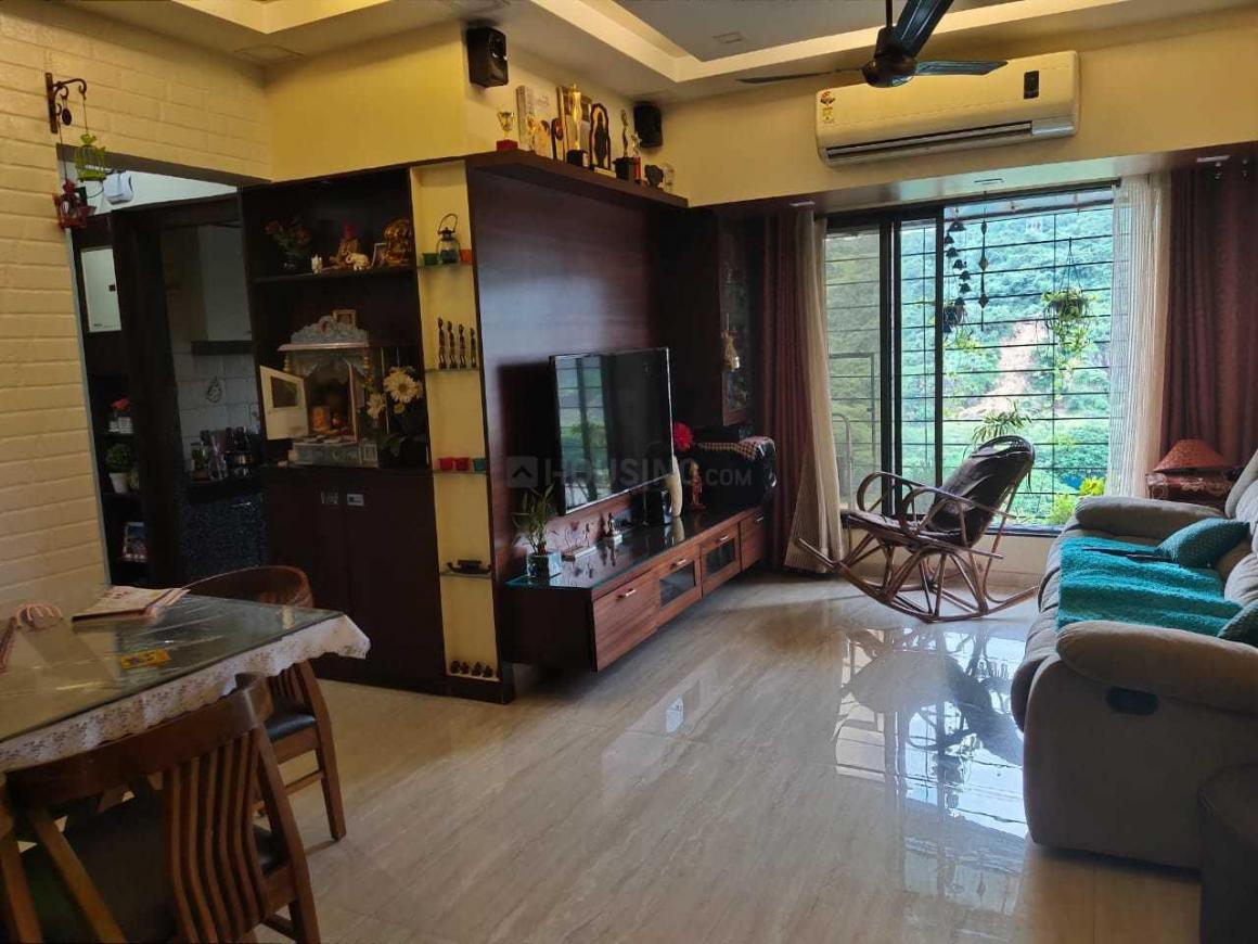 Living Room Image of 1050 Sq.ft 2 BHK Apartment for buy in Kandivali East for 12500000