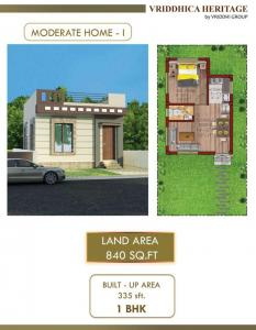 Gallery Cover Image of 335 Sq.ft 1 BHK Independent House for buy in Joka for 899000