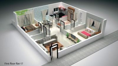 Gallery Cover Image of 1700 Sq.ft 3 BHK Independent Floor for buy in Kollur for 5100000