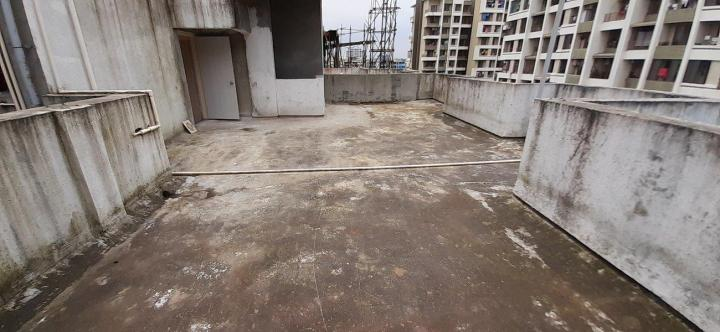 Terrace Image of 1400 Sq.ft 1 BHK Independent Floor for rent in Titwala for 7000