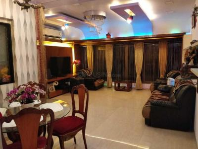 Gallery Cover Image of 1425 Sq.ft 3 BHK Apartment for rent in Airoli for 50000