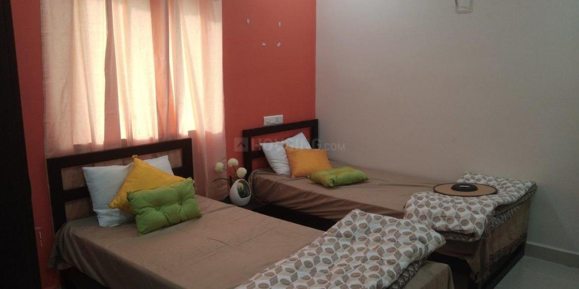 Bedroom Image of 480 Sq.ft 1 RK Independent Floor for rent in Kukatpally for 15000