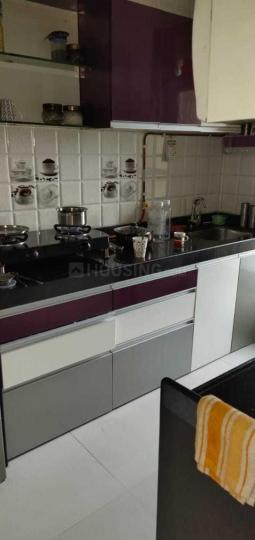 Kitchen Image of 1200 Sq.ft 3 BHK Apartment for rent in Mulund East for 45000