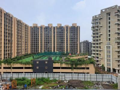 Gallery Cover Image of 1250 Sq.ft 3 BHK Apartment for rent in Rustomjee Avenue M, Virar West for 13000