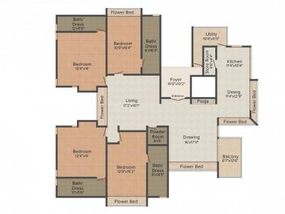 Gallery Cover Image of 4260 Sq.ft 4 BHK Independent Floor for buy in Soham Pride 410, Thaltej for 35000000