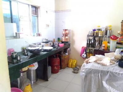Kitchen Image of 600 Sq.ft 1 BHK Apartment for buy in Vishrantwadi for 3300000
