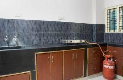 Kitchen Image of Srinivasa Nilayam Flat No 401 in Gachibowli