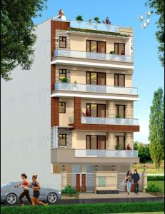 Gallery Cover Image of 1690 Sq.ft 3 BHK Independent Floor for buy in Rich Elegant Floors, Green Field Colony for 6950000