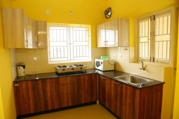 Kitchen Image of 1000 Sq.ft 2 BHK Apartment for rent in Maraimalai Nagar for 10000